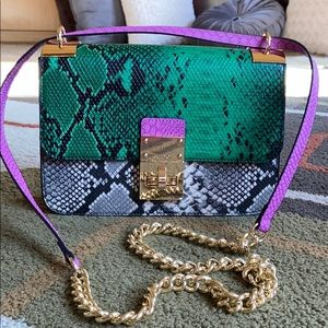 NWOT💜ALDO Multicolor Python Print Vegan Bag💜